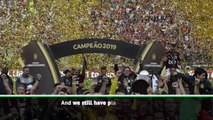 Jesus lays down gauntlet to Liverpool after Copa Libertadores title