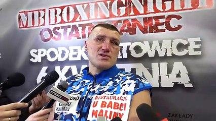 Mariusz Wach ze łzami w oczach po przegranej z Martinem Bakole