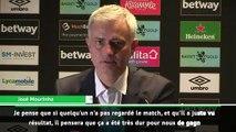 """Mourinho: """"On a très bien joué pendant une heure"""""""