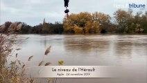 MÉTÉO - Le niveau de l'Hérault le dimanche 24 nov 2019