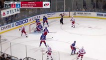 Henrik Lundqvist reaches back for daring stick save