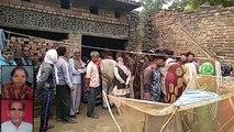 मैनपुरी में दादा—पौत्री की हत्या से हड़कंप, आंग