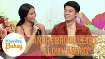 Lou and Andre are taking their relationship slow | Magandang Buhay
