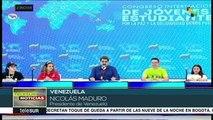 Maduro: el pueblo de Colombia clama que Duque se vaya