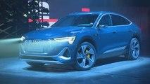 Audi e-tron Sportback auf der LA Auto Show 2019