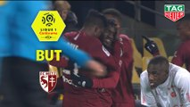 But Adama TRAORE (47ème) / FC Metz - Stade de Reims - (1-1) - (FCM-REIMS) / 2019-20