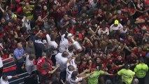 Rio se tiñó de rojo y negro para recibir a campón de la Libertadores Flamengo