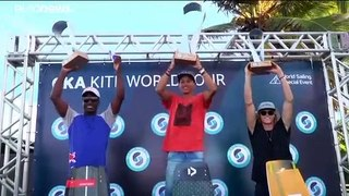 Brazilian Mikaili Sol wins Kiteboarding World Championships