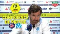 Conférence de presse Toulouse FC - Olympique de Marseille (0-2) : Antoine  KOMBOUARE (TFC) - André VILLAS BOAS (OM) / 2019-20