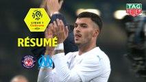 Toulouse FC - Olympique de Marseille (0-2)  - Résumé - (TFC-OM) / 2019-20