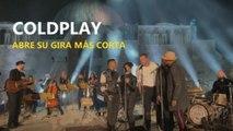 El mejor Coldplay abre su gira más corta con un concierto memorable en Amán