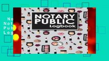 Notary Public Logbook  Notary Book, Notary Public Journal, Notary Log Book, Notary Records