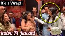 Kiara Advani Wraps Up The 'Indoo Ki Jawani' Shoot, Cake Cutting & Celebrations On Sets