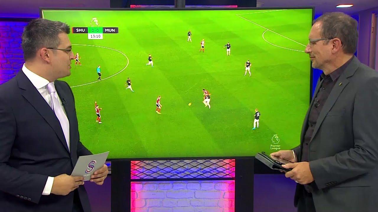 Sheffield United - Manchester United Maçının Görüntülü Analizi