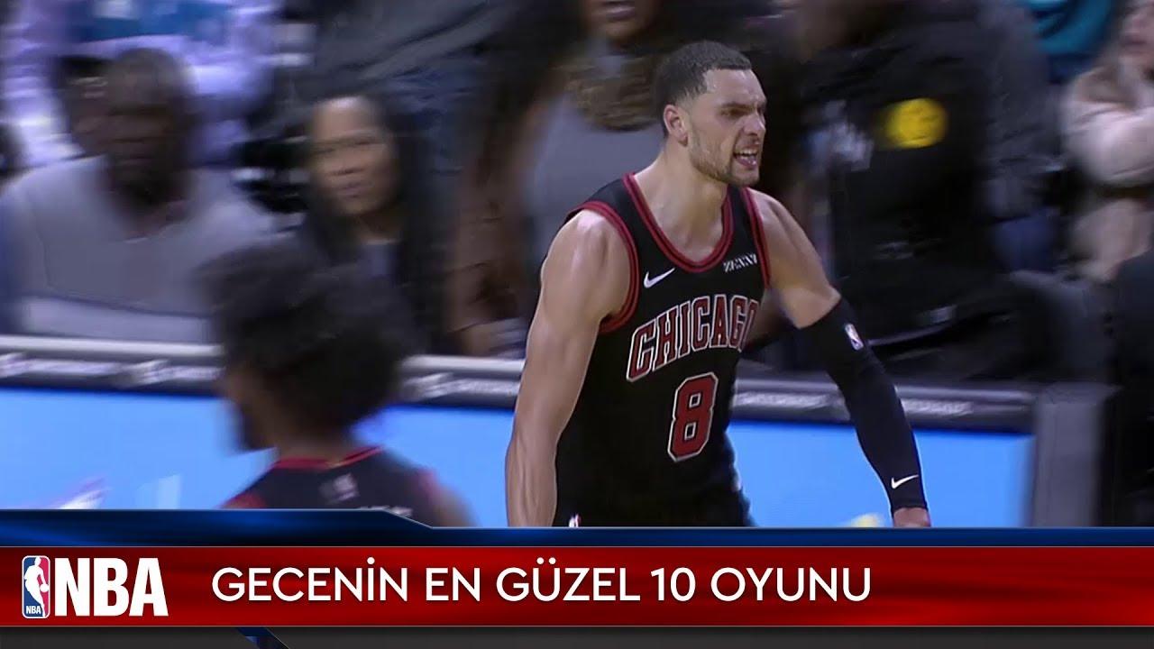 NBA'de Gecenin En Güzel 10 Oyunu | 23.11.2019