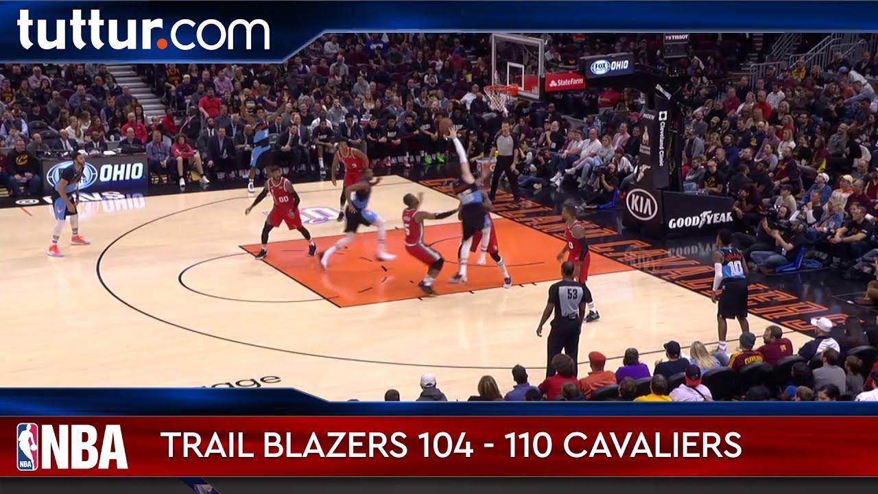 Portland Trail Blazers 104 - 110 Cleveland Cavaliers
