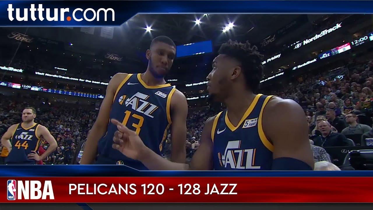 New Orleans Pelicans 120 - 128 Utah Jazz