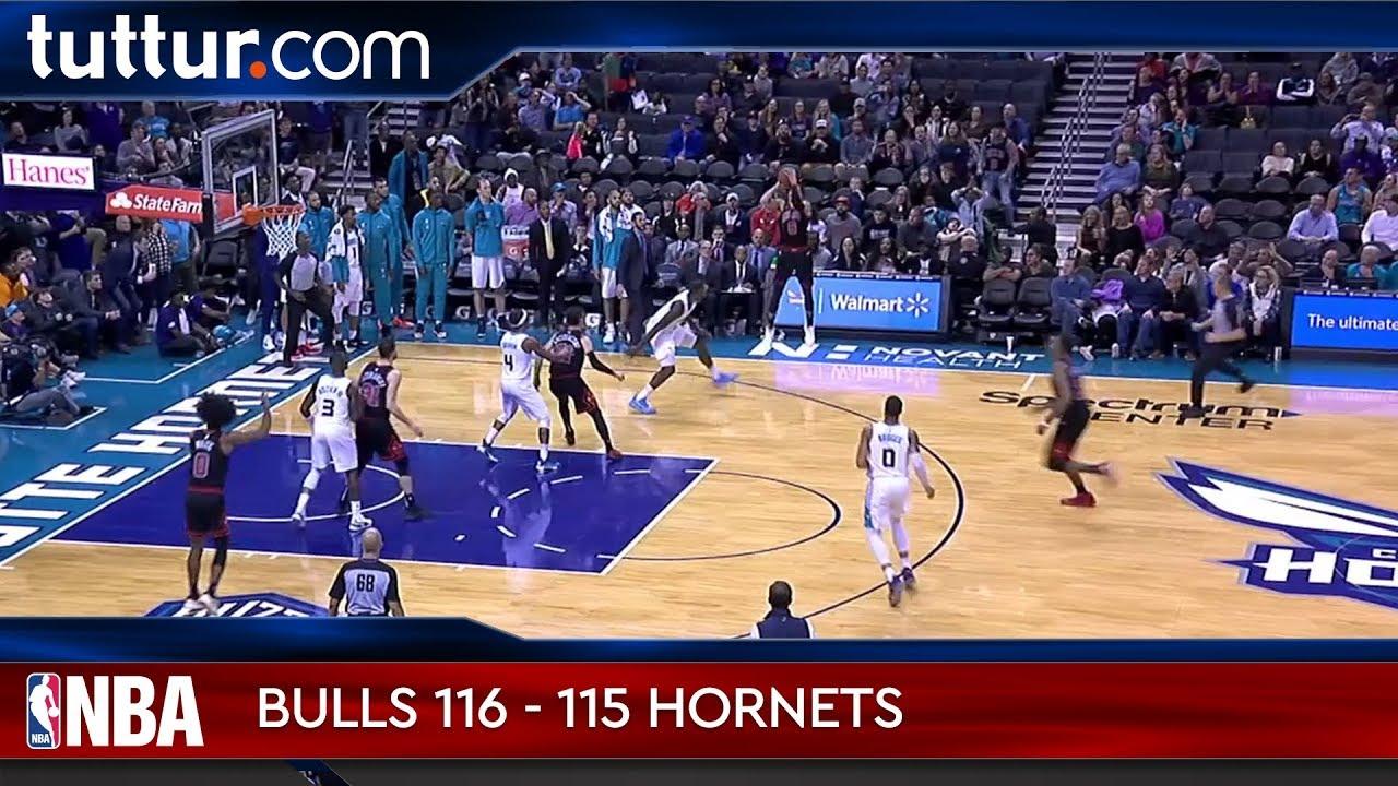 Chicago Bulls 116 - 115 Charlotte Hornets