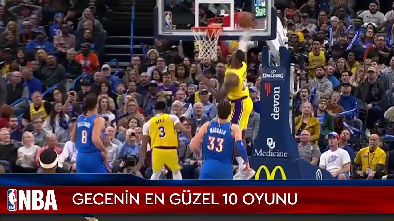 NBA'de Gecenin En Güzel 10 Oyunu | 22.11.2019