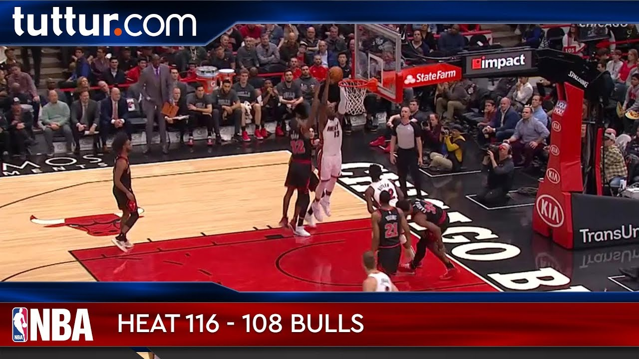 Miami Heat 116 - 108 Chicago Bulls