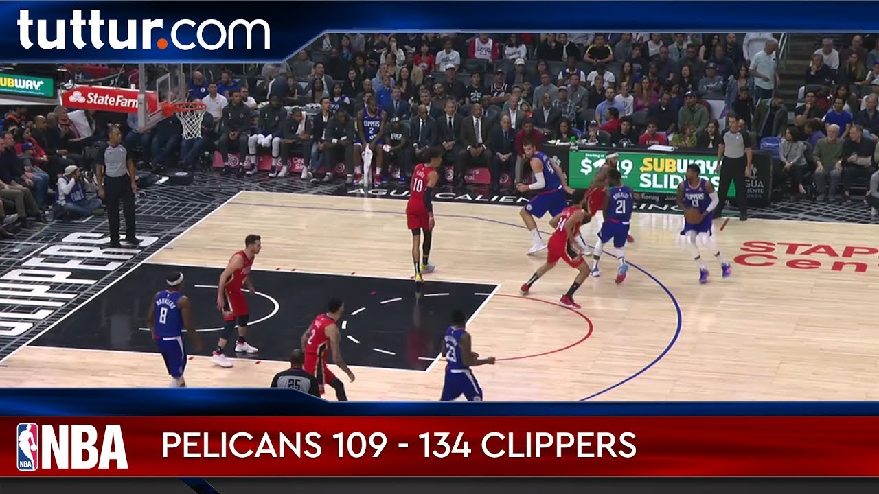 New Orleans Pelicans 109 - 134 LA Clippers
