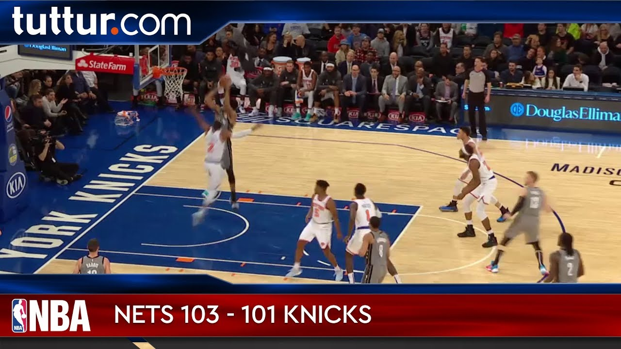 Brooklyn Nets 103 - 101 New York Knicks