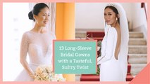 13 Long-Sleeve Bridal Gowns with a Tasteful, Sultry Twist