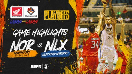 Highlights: G1: NorthPort vs NLEX | PBA Governors' Cup 2019 Quarterfinals