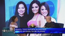 What is Bianca Manalo's tip for her aspiring beauty queen sister Nicole?