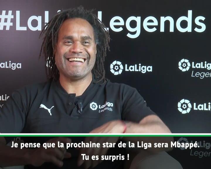 """La Liga - Karembeu : """"La prochaine star de la Liga ? Mbappé !"""""""