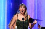 Taylor Swift takes swipe at record label