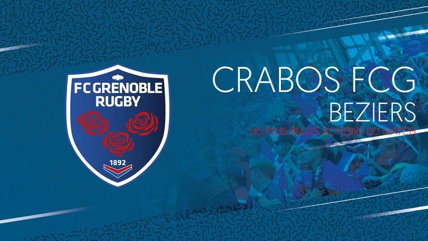Video : Video - Crabos FCG - Béziers : les plus belles actions du match