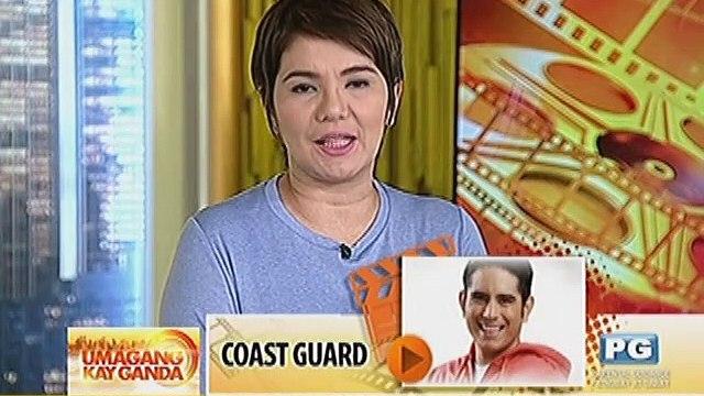 Gerald Anderson, bahagi na ng Philippine Coast Guard