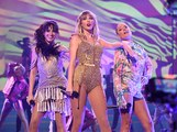 Taylor Swift Joined By Camila Cabello and Halsey During AMA Performance