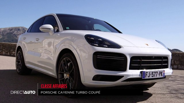 Classe affaires : Porsche Cayenne Turbo Coupé
