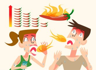 The Best Way to Handle Spicy Food