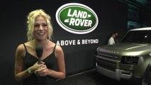 New 2020 Land Rover Defender at the 2019 LA Auto Show - Pixie Lott