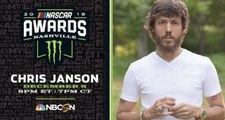 Chris Janson to perform at NASCAR Awards in Nashville