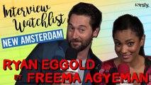 NEW AMSTERDAM : La Watchlist de Freema Agyeman et Ryan Eggold