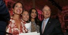 Présidentielle américaine: Michael Bloomberg, le candidat qui pesait 55 milliards de dollars, se dresse face à Trump