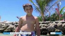 Polynésie : un enfant attaqué par un requin