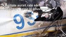 Crash d'un avion en RDC: un habitant témoigne