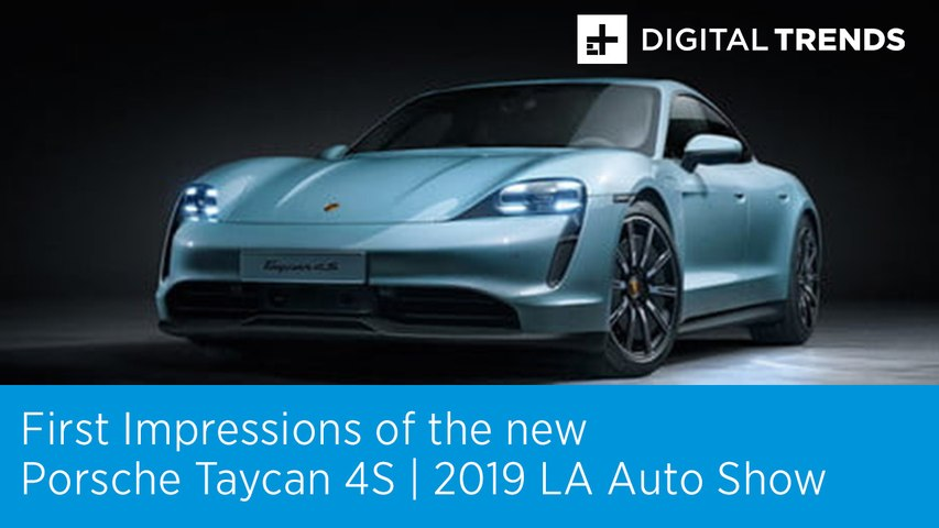 First Impressions of the new Porsche Taycan 4S at the 2019 LA Auto Show