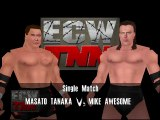 ECW Barely Legal Mod Matches Masato Tanaka vs Mike Awesome