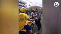 Policiais ameaçam motociclistas durante manifestação em Vitória