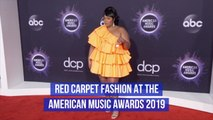 Fashion On The 2019 AMA Red Carpet