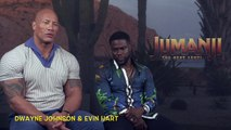 Jumanji:  The Next Level: Dwayne Johnson & Kevin Hart