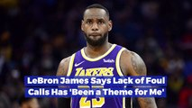 LeBron James On Fouls