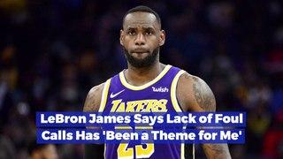 LeBron James On Fouls