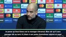 "Groupe C - Guardiola : ""Arteta sera manager tôt ou tard"""